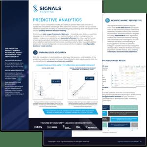 Data Sheet - Predictive Analytics