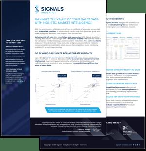 Sales Data Data Sheet - Image